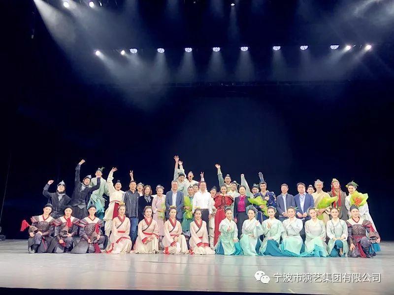 """一场来自宁波的""""舞蹈风暴"""" 惊艳省戏剧节"""