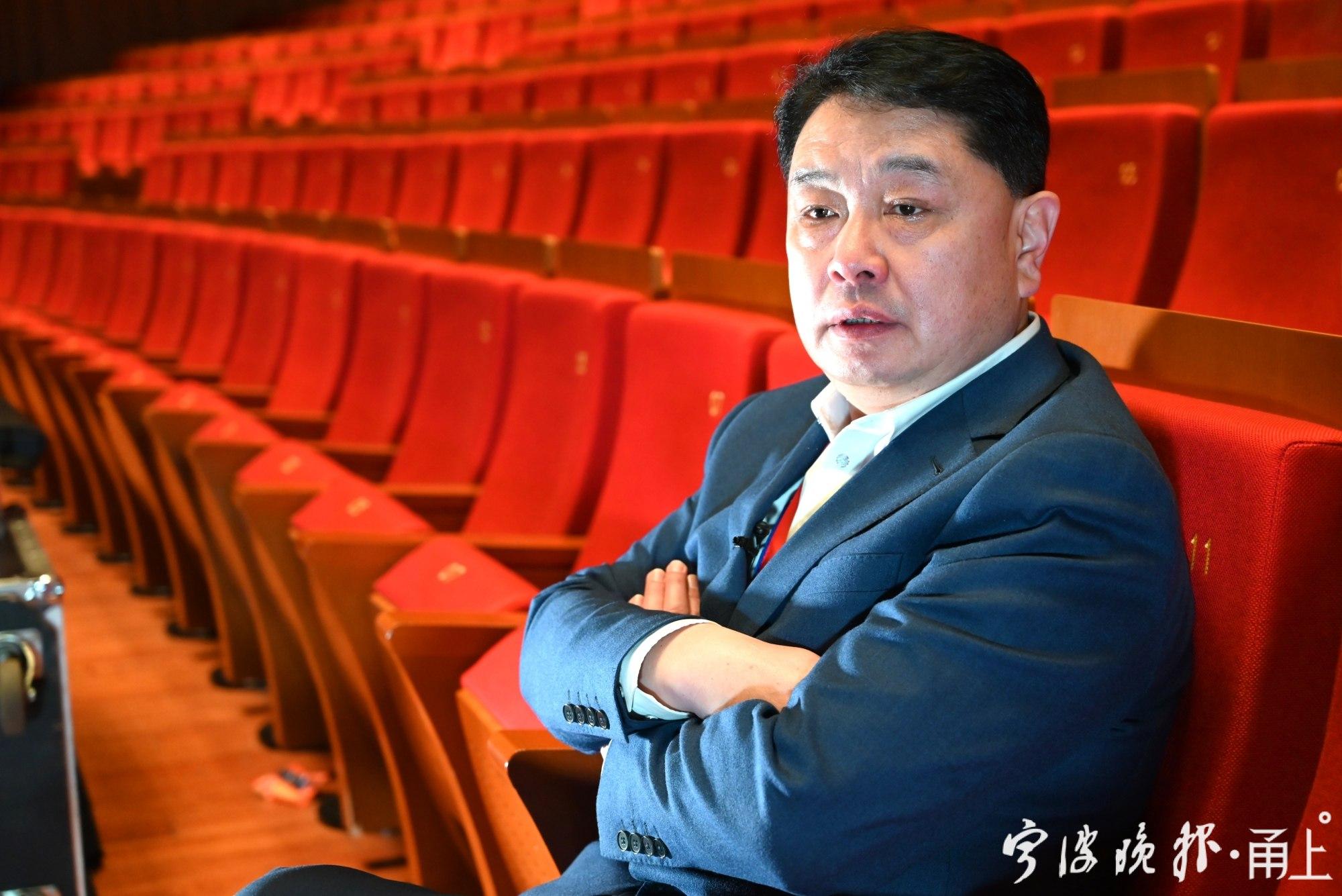 甬上 宁波歌舞剧院院长严肖平:坚持《花木兰》的艺术水准,为宁波城市代言