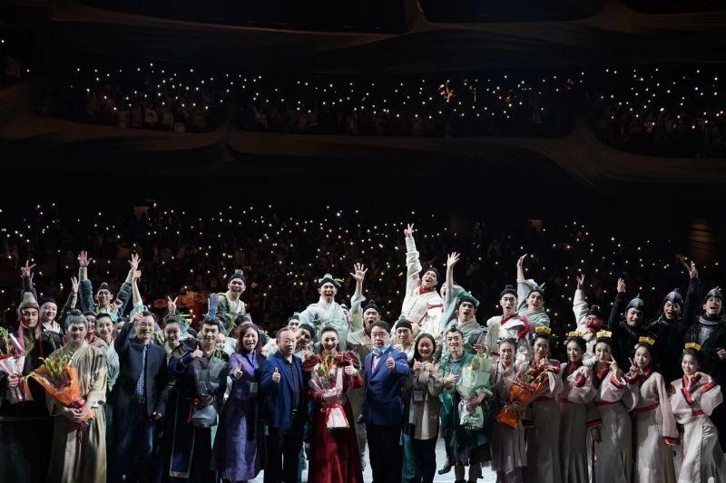 甬上 舞剧《花木兰》 在长沙大受欢迎