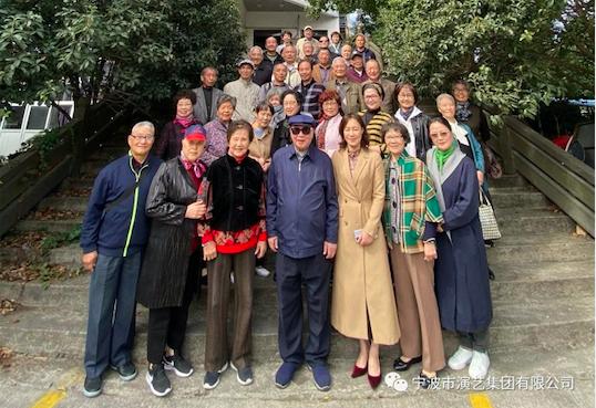 九九重阳节 老前辈们欢聚一堂话温暖